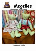 Thomas and Tilly 50cm pattern cover