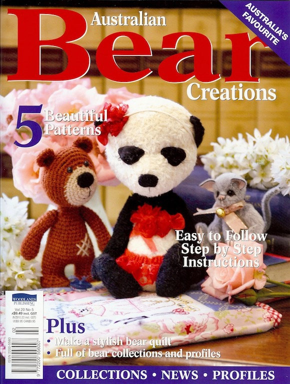 Bear Creation vol 20 no 5 front cover
