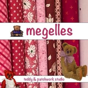 Megelles Free PDF Patterns - Teddy Bear, Teddy Bear Pin