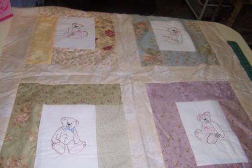 4 bears quilt